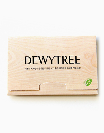 Nature Source Green Tea Mattifying Linens by Dewytree