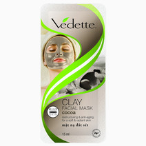 Clay Facial Mask Cocoa by Vedette