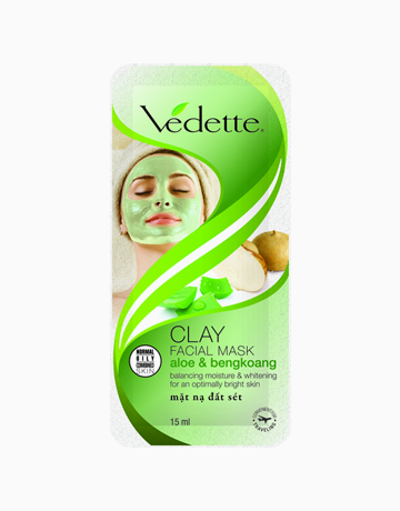 Clay Facial Mask Aloe and Bengkoang by Vedette