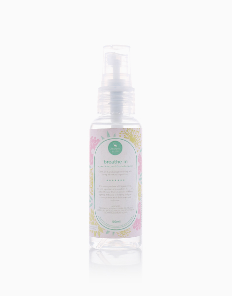 Breathe In Room, Linen, and Dustmite Spray by Organic Alley