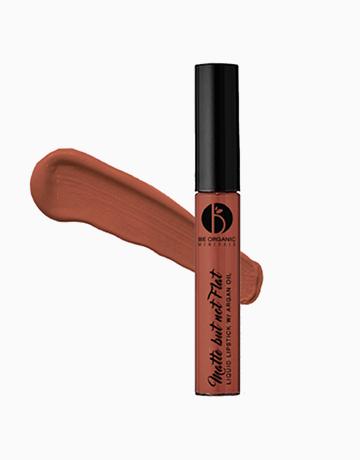 Matte But Not Flat Liquid Lipstick by Be Organic Bath & Body | #8 Hazelnut