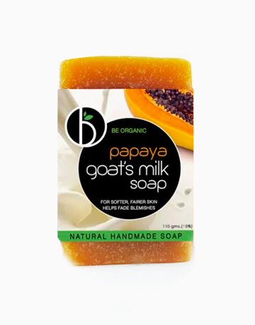 Papaya Goat's Milk Soap by Be Organic Bath & Body