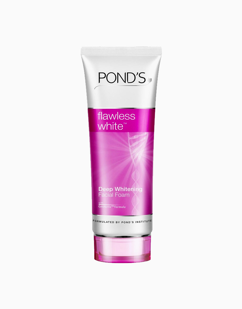 Ponds Flawless White Facial Foam 100g by Pond's