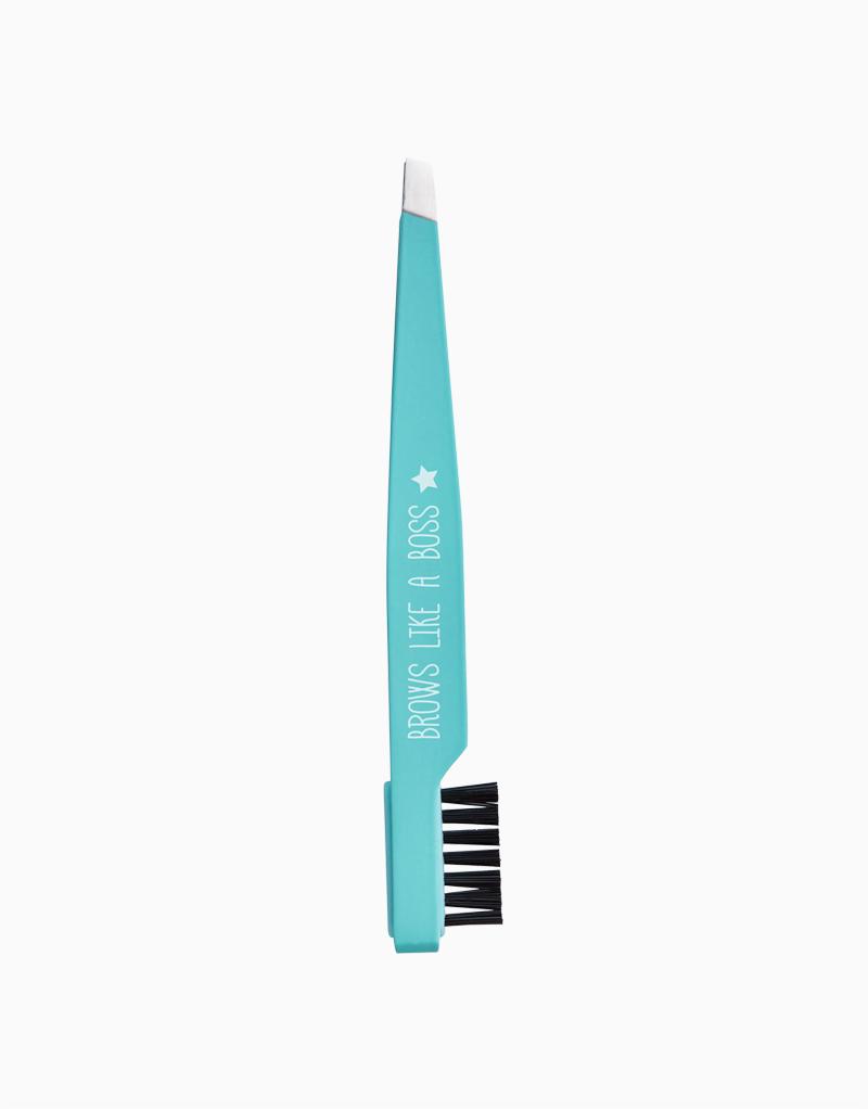 Tweezers with Brush by Happy Skin
