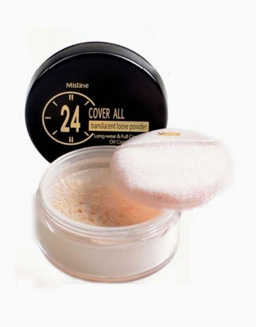 24 Hours Cover All Translucent Loose Powder by Mistine