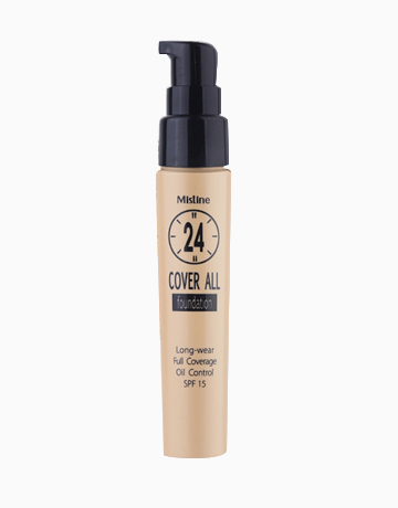 24 Hours Cover All Foundation by Mistine | Natural White F1