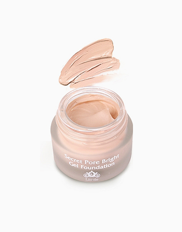 Secret Pore Bright Gel Foundation by Lioele | #21 Pure Ivory