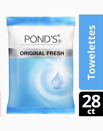 Pond's Towelette Original Fresh 28counts by Pond's