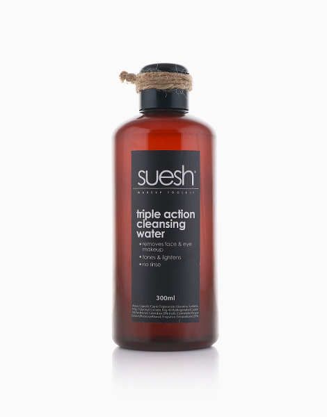 Pure 3 in 1 Triple Action Cleansing Water (300ml) by Suesh