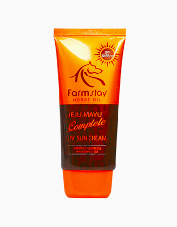 Horse Oil Jeju Mayu UV Sun Cream by Farmstay