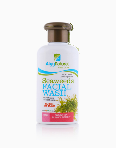 Seaweeds Facial Wash by ALGYNATURAL | Floral