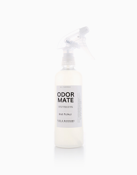 Odor Mate (500ml) by Figs & Blossoms | Rose Petals