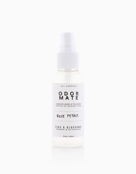 Odor Mate (50ml) by Figs & Blossoms | Rose Petals