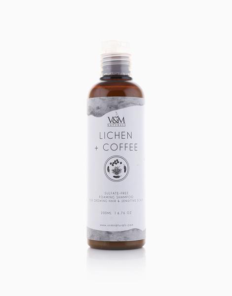 Lichen + Coffee Sulfate-Free Foaming Shampoo by V&M Naturals
