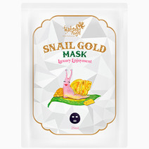 Snail Gold Mask by Water Angel