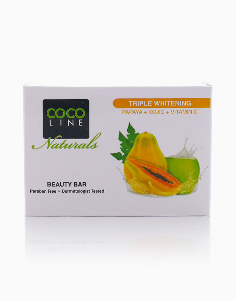 Triple Whitening Beauty Bar (135g) by Cocoline Naturals