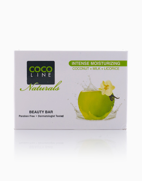 Intense Moisturizing Beauty Bar (135g) by Cocoline Naturals