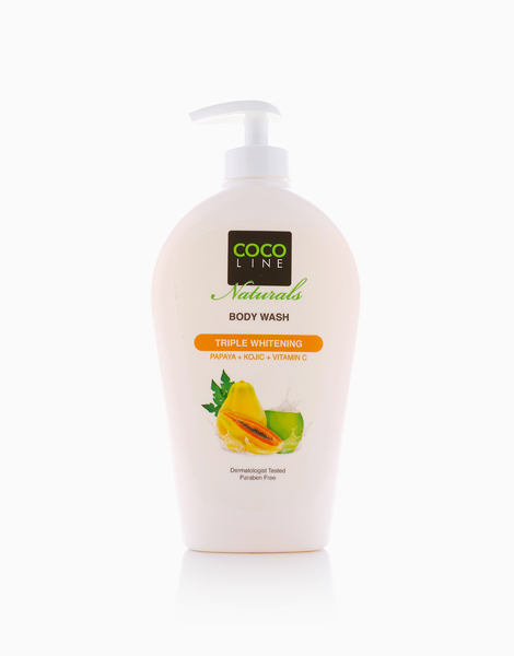 Triple Whitening Body Wash (340ml) by Cocoline Naturals