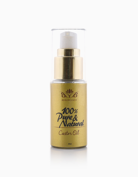 100% Pure & Natural Castor Oil (40ml) by Beaublends