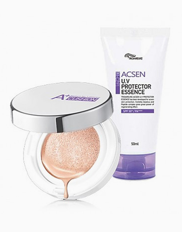 ACSEN Protection Kit Limited Edition (A+Cushion & UV Protector Essence) by Troiareuke