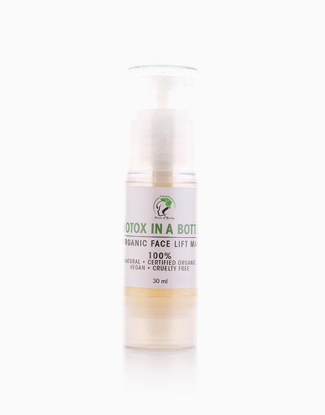 Botox in a Bottle Organic Face Lift Mask by Leiania House of Beauty