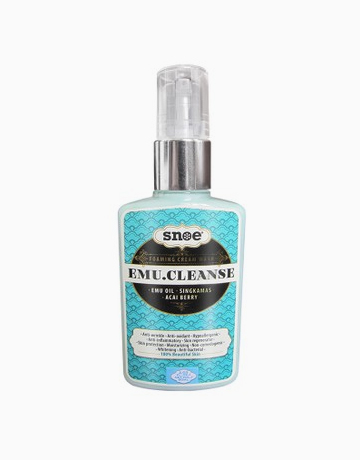Emu.Cleanse Foaming Cream Wash by Snoe Beauty