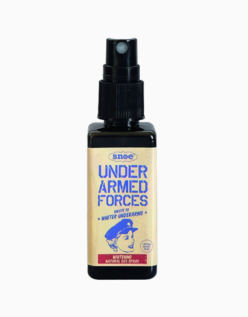 Under Armed Forces Whitening Natural Deo Spray by Snoe Beauty