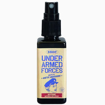 Under armed forces whitening natural deo spray
