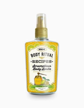 Body Ritual Recipes Scrumptious Body Spritz in Lemon Drop by Snoe Beauty