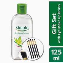 Eye Makeup Remover + Brush by Simple