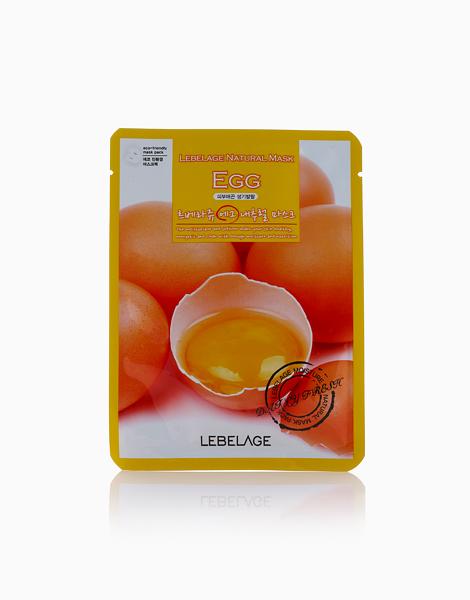 Egg Mask Sheet by Lebelage