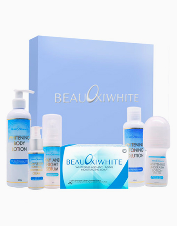 BeauOxi White Face, Body, And Underarm Whitening Essentials by BeauOxi White