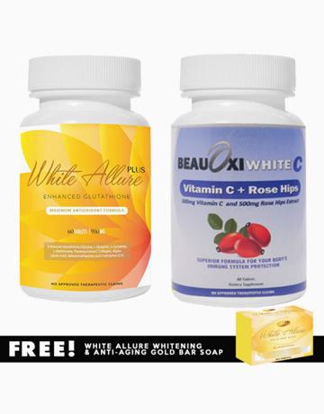 White Allure Glutathione + BeauOxi White-C Vitamin C Combo by White Allure
