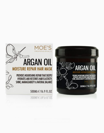 Argan Oil Moisture Repair Hair Mask by Moe's Professionals