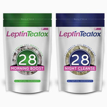 Leptin teatox 28 day combo weight loss tea