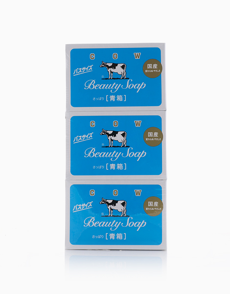 Cow Beauty Soap Blue (130g x 3) by COW