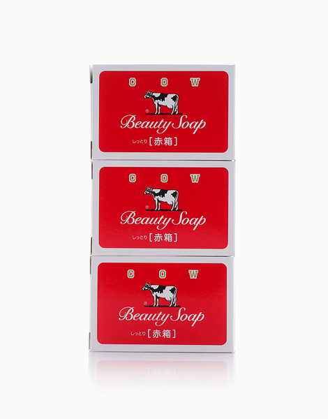 Cow Beauty Soap Red (100gx3) by COW