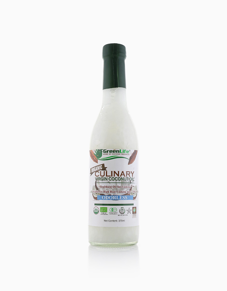 Organic Culinary Virgin Coconut Oil (375ml) by GreenLife Home of Coconut Products