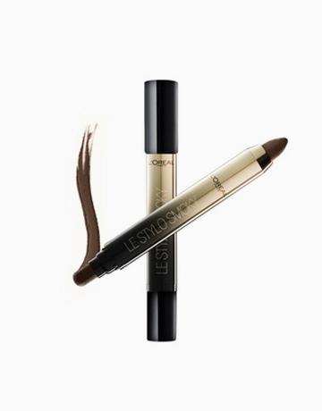 Le Stylo Smoky 2-in-1 Eye Shadow Pencil by L'Oréal Paris | Mocha Coffee B1