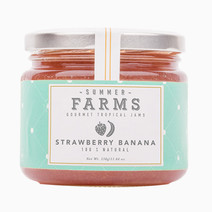 Summer farms strawberry banana jam
