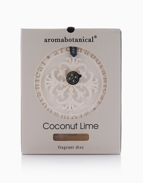 Ceramic Fragrance Disc  by Aromabotanical Philippines | Coconut Lime