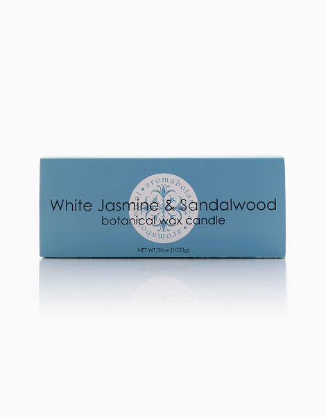 6-Wick Candle by Aromabotanical Philippines | White Jasmine and Sandalwood