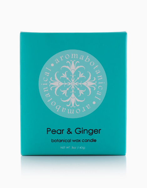 1-Wick Candle by Aromabotanical Philippines | Pear and Ginger