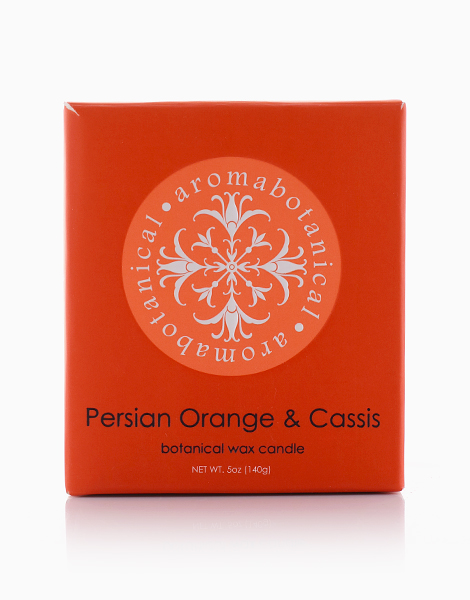 1-Wick Candle by Aromabotanical Philippines | Persian Orange and Cassis
