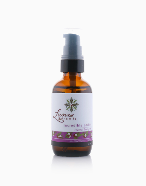 Incredible Bodies Thermal Toning Oil (Anti-Cellulite) by Lunas Living Oils