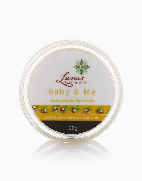 Baby & Me Antibacterial Skin Salve by Lunas Living Oils