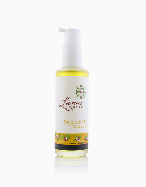 Baby & Me Hair & Body Oil by Lunas Living Oils