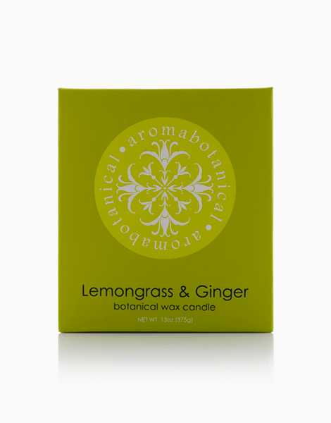 2-Wick Candle  by Aromabotanical Philippines | Lemongrass and Ginger