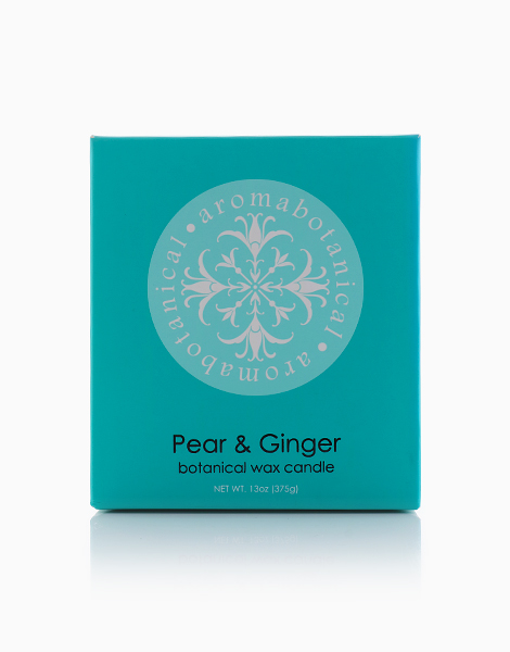 2-Wick Candle  by Aromabotanical Philippines | Pear and Ginger