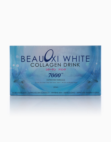 BeauOxi White Collagen Drink: 10 Ready-To-Drink Bottles by BeauOxi White